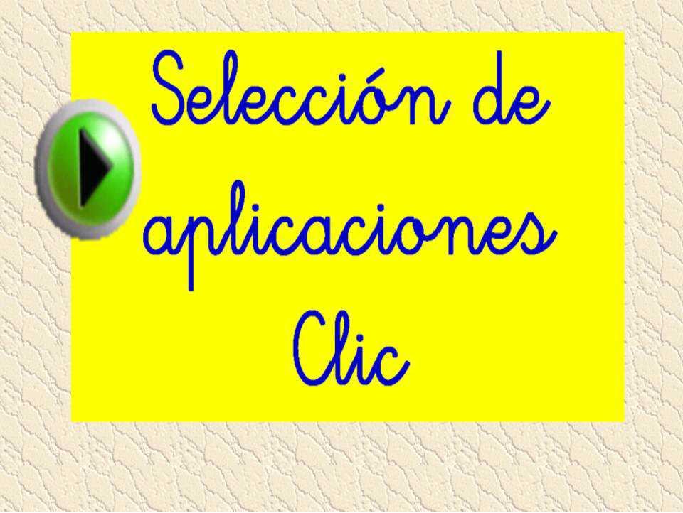 Aplicaciones Clic